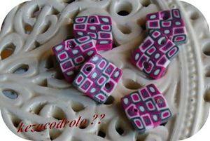 perles carrées