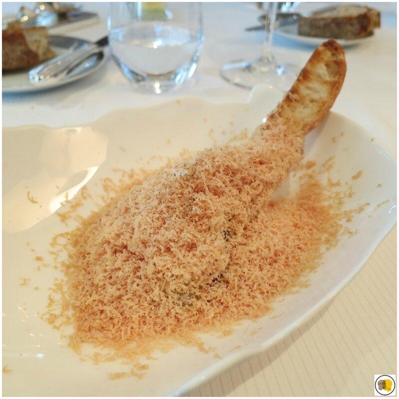 Foie gras de Champagne en tartine (1)