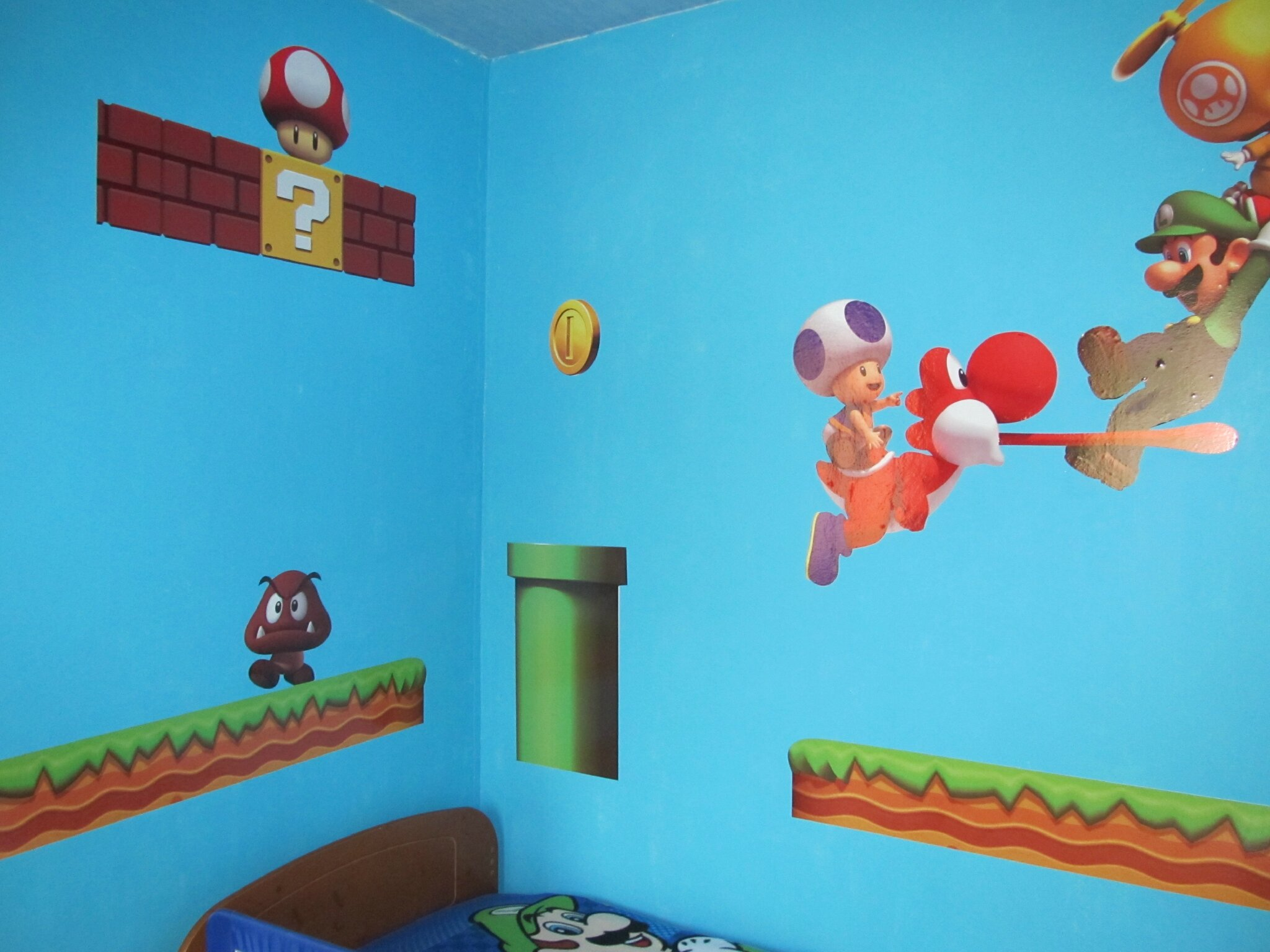 Le Deco Chambre Mario Bros De Celyna Une Mouette En France