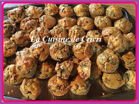 Minis cake champignons jambon cru-00