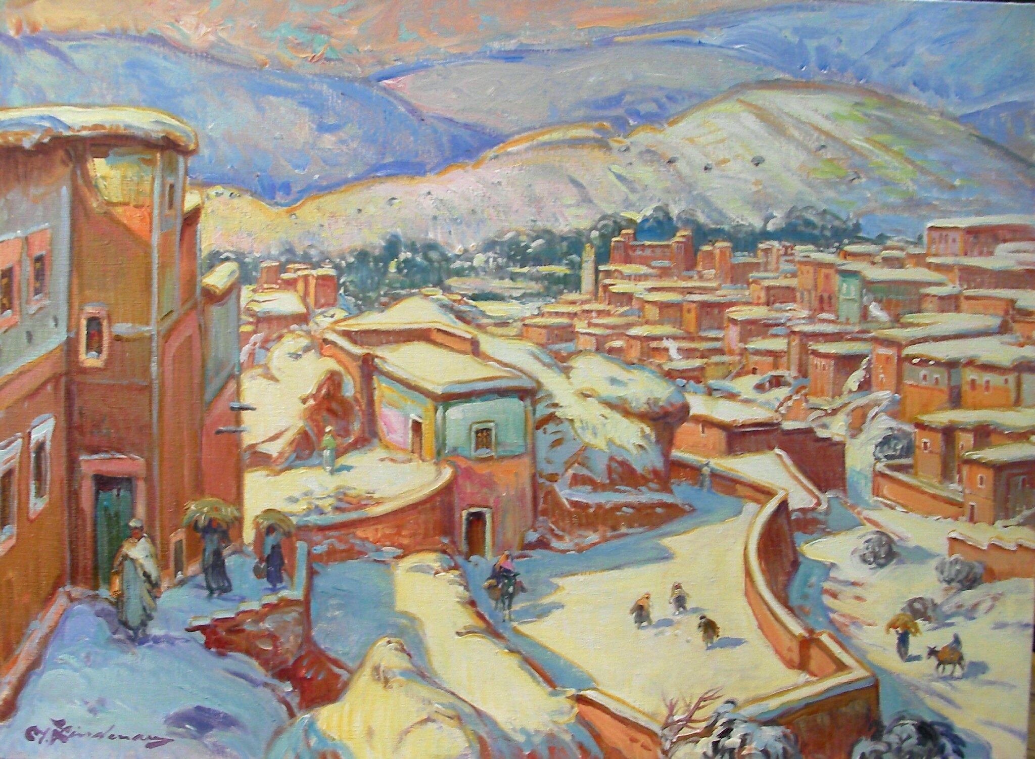 Cote Artiste Peintre Francais artiste peintre martin lindenau - vos artistes au maroc (www