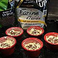 Muffins tomates séchées jambon sec et feta