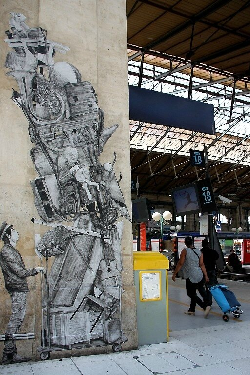 5-Collage Levalet, Gare du Nord_9928