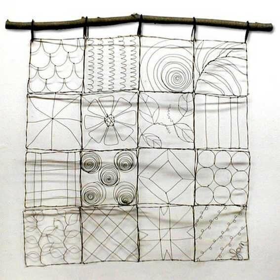 Ashbee Design Wire Quilt