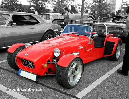 VM 77 roadster réplique lotus seven (Rencard Burger King aout 2012) 04