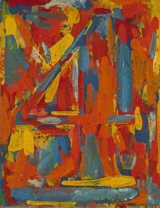 Jasper Johns' 'Figure 4'