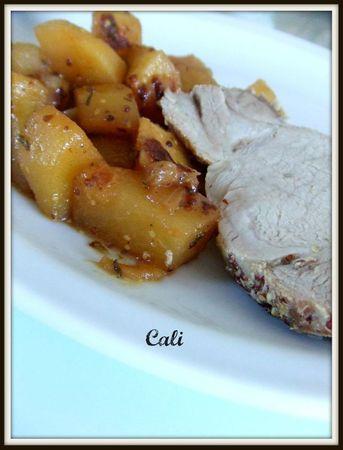 Carré de Porc sans Os en Cocotte de Pommes de Terre & Moutarde 004