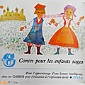 Livre ancien ... 6 contes pour les enfants sages (1968) * istra
