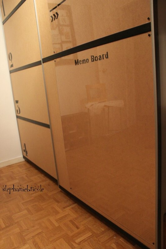 MEMO BOARD DIY INDUSTRIEL