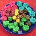 gâteaux colorés