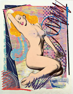 art_duardo_and_evans_marilyn_monroe_1989_serigraphie