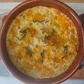 Clafoutis poivrons / tomates