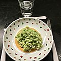 Coquillettes au pesto de brocoli