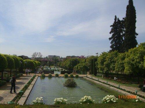 Jardins de l'Alcazar, Cordoue