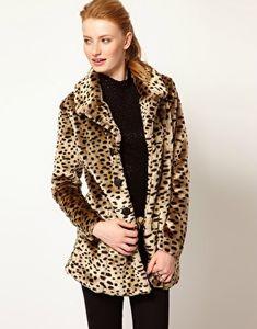 manteau leopard vero moda