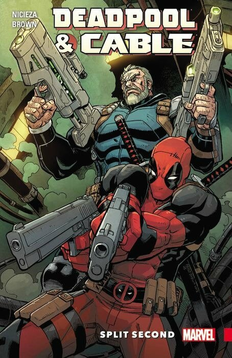 deadpool & cable split second TP