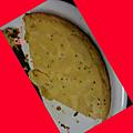 Gâteau au kiwi et pomme