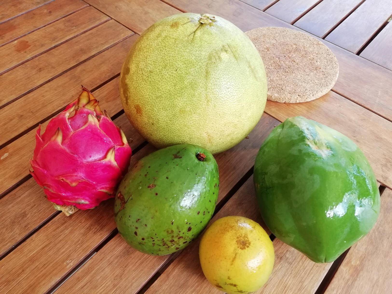 Pataya Chadeck Avocat Orange PapayeVerte