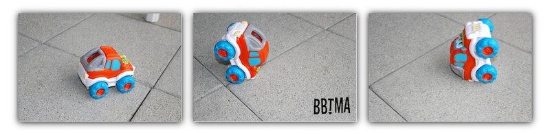 voiture théo l'auto culbuto clementoni télécommandée jouet roulade 2 ans 4 ans bbtma blog #5
