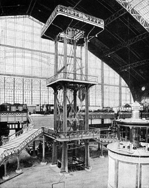 1889_Galerie des machines_interieur