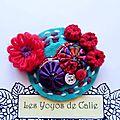 Les yoyos de calie - broche / bijou de sac