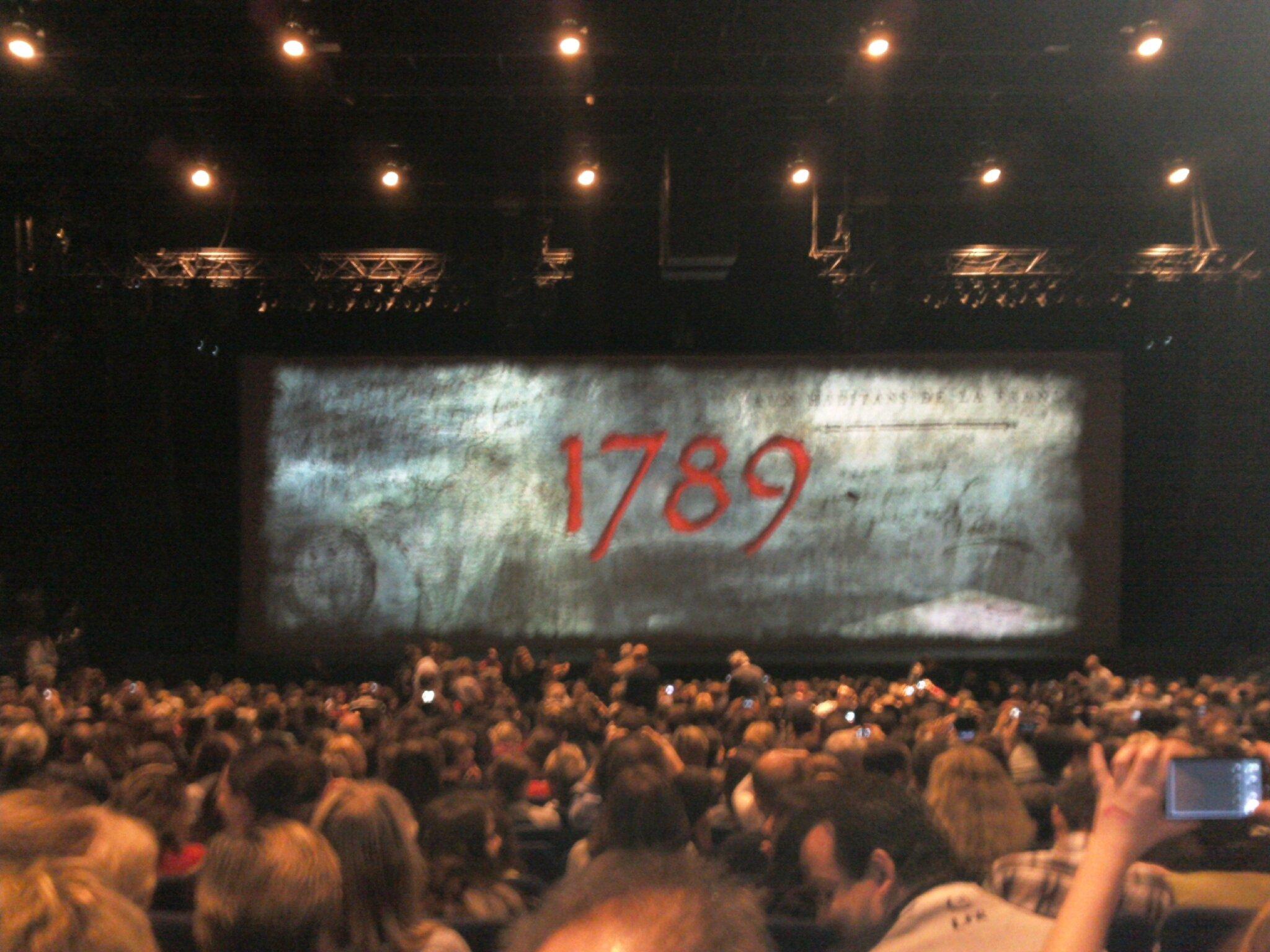 """24 novembre 2012 : Sortie à Paris - Spectacle """"1789 - LES AMANTS DE LA BASTILLE"""""""