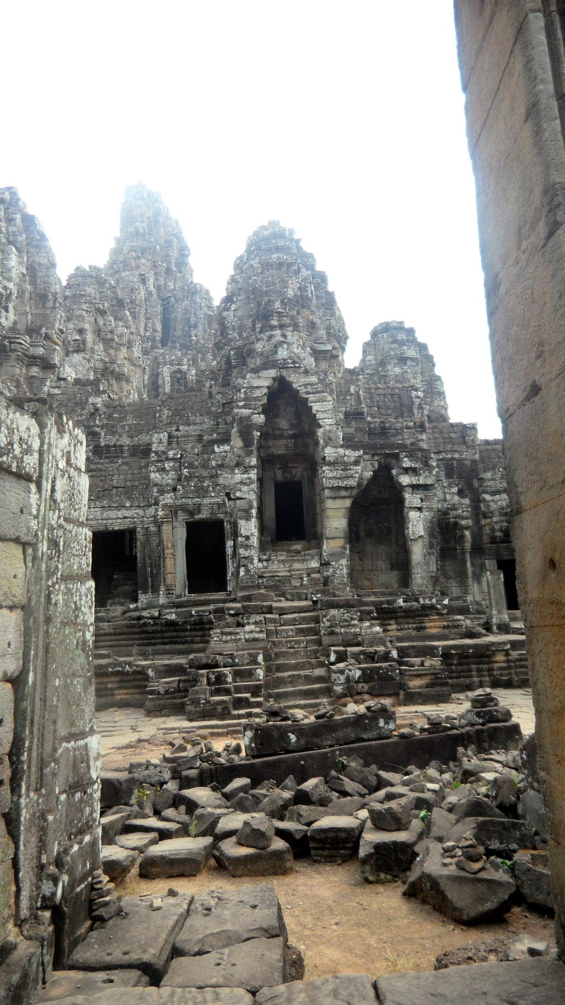 Temple Bayon, le temple aux 216 visages