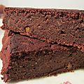 Brownie à la patate douce et aux dattes (vegan/sans gluten)
