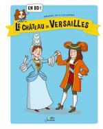 Le château de Versailles en BD couv