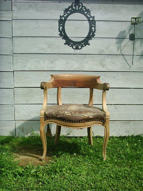 fauteuil louis philippe avant