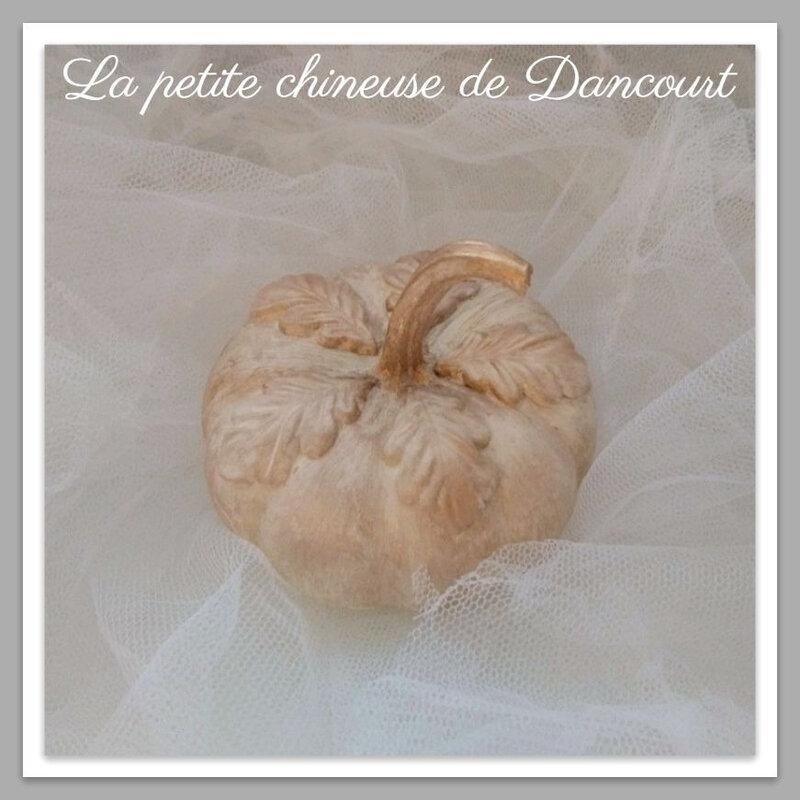 Citrouille la petite chineuse de Dancourt