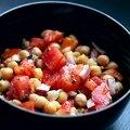 Balila : salade de pois chiches libanaise