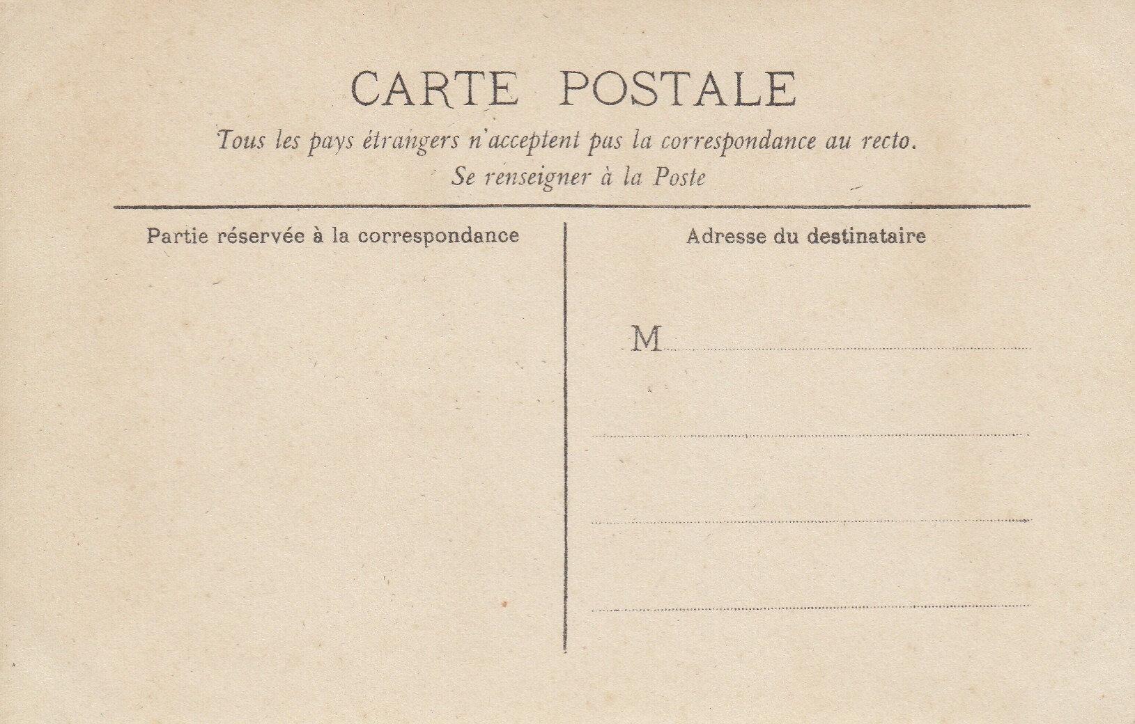 Verso des cartesphoto de Rodolphe Miéville