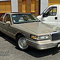 Lincoln town car cypress edition 4door sedan-1996