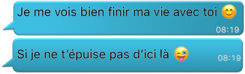 Message du matin