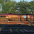 ECR, Class 66 (244) dans les Landes