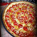 Tarte froide aux tomates cerises & à la moutarde
