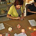 Atelier origami à la chapelle en provence