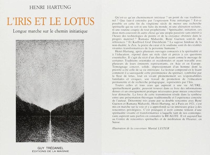 Henri Hartung, L'iris et le lotus, avec 4è