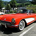 Chevrolet corvette c1 roadster 1956-1957