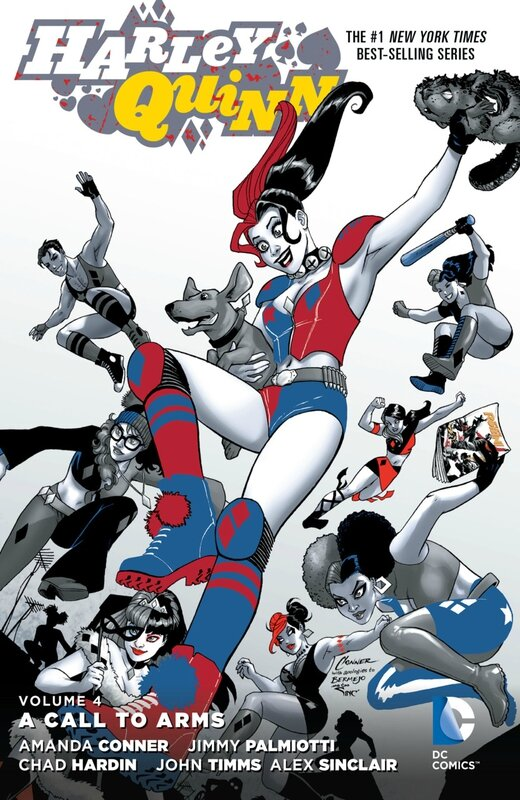 new 52 harley quinn vol 4 a call to arms TP