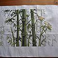 Les bambous et les tableautins de noël (2)