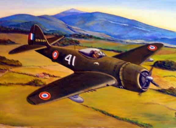 P-47 Capitaine Jallier