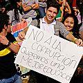28 Non à la corruption, nous voulons une meilleure éducation