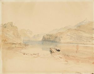 Turner, lake of Annecy