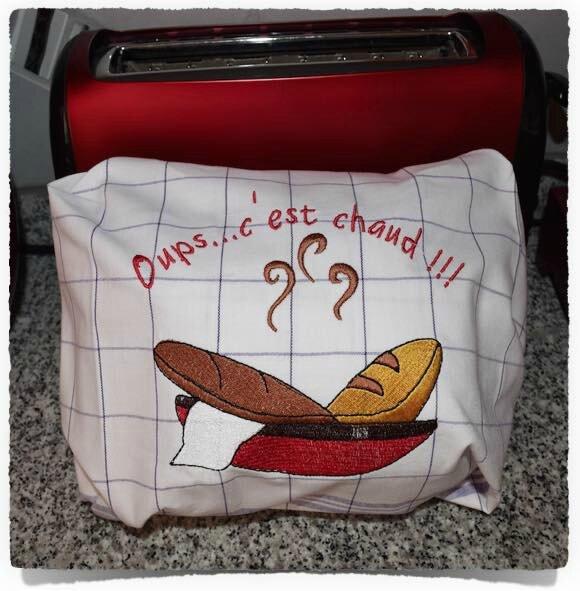 Torchon à pain personnalisé 2