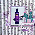 [ stylo légo ] - sketch#310 just create and scrap
