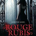 Rouge rubis - kerstin gier