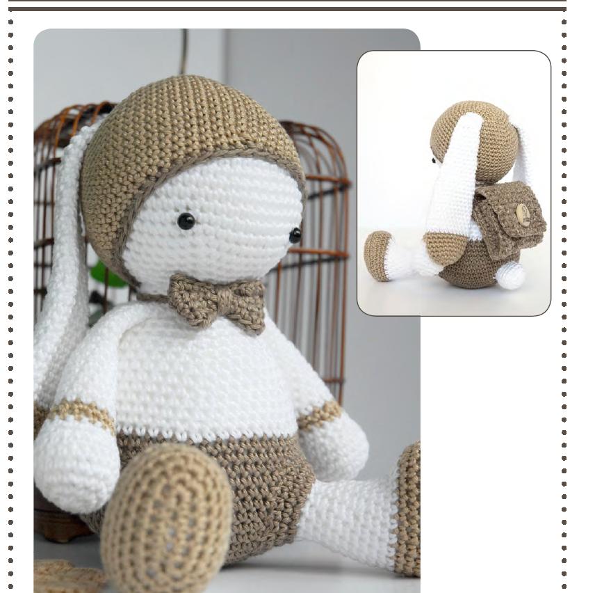 Tutoriel au crochet modèle amigurumi : Barnabé le lapin | Etsy | 852x856