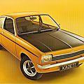 Opel Kadett C Coupe 1974